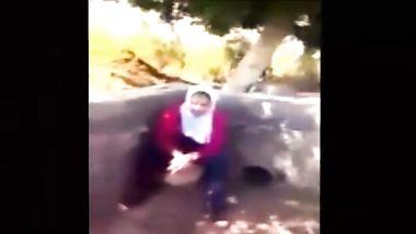 طالبة ثانوي تتناك من زميلها في طيزها خلف المدرسة